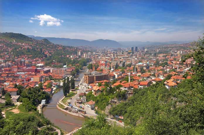 city of Sarajevo
