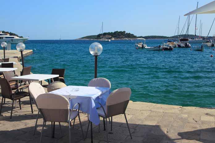 Bars on the Island of Hvar
