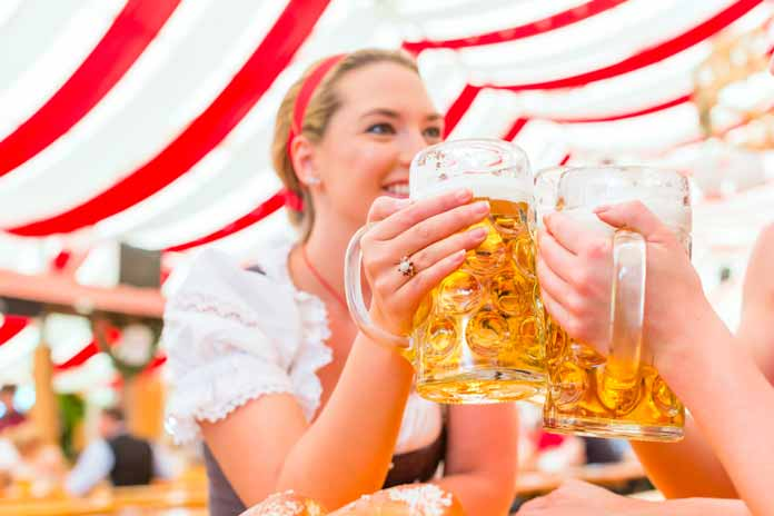 Beer drinking Germany