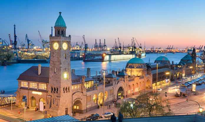 Harbor Hamburg