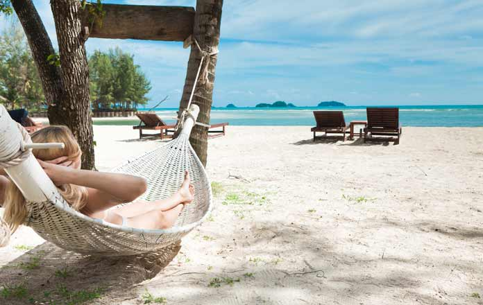 Thailand backpackers