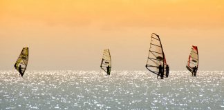 Windsurfing vacation