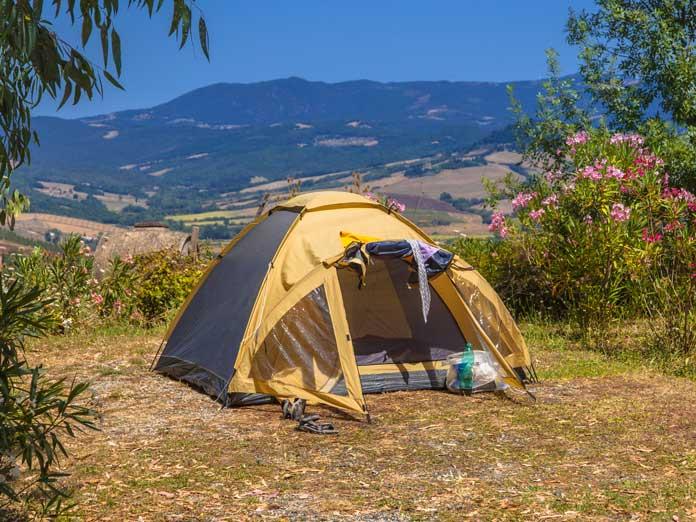 greece camping