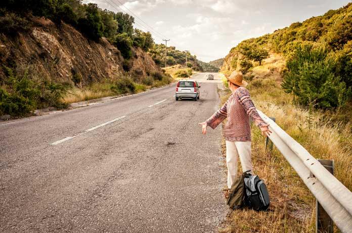 greece hitchhiking