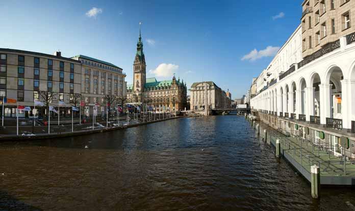 landmarks Hamburg Germany