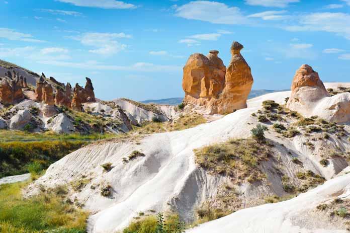 Camel rock Cappadocia Turkey