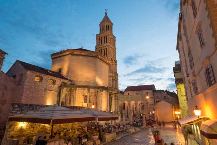 Cathedral of Saint Dominus Split Croatia
