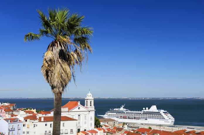 Cruises around the oceans of Europe