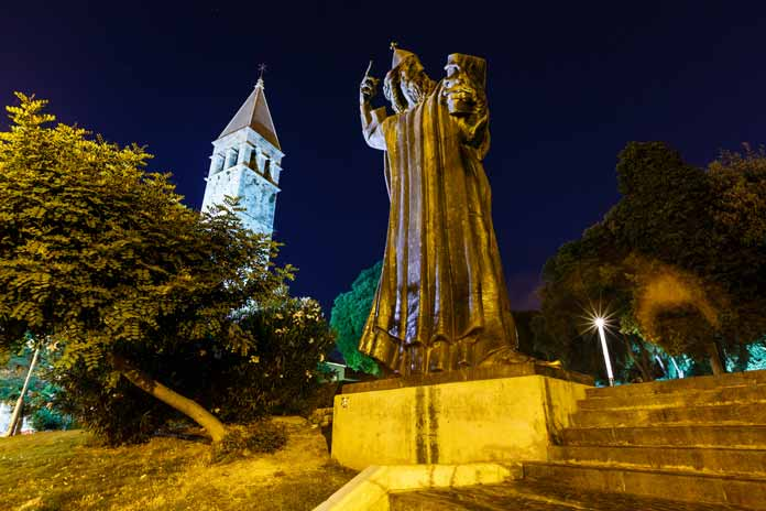 Gregory of Nin Statue