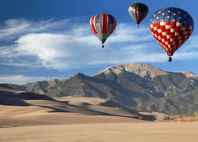 Hot Air Balloons Great Sand Dunes