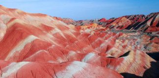 Rainbow Mountains Zhangye Danxia