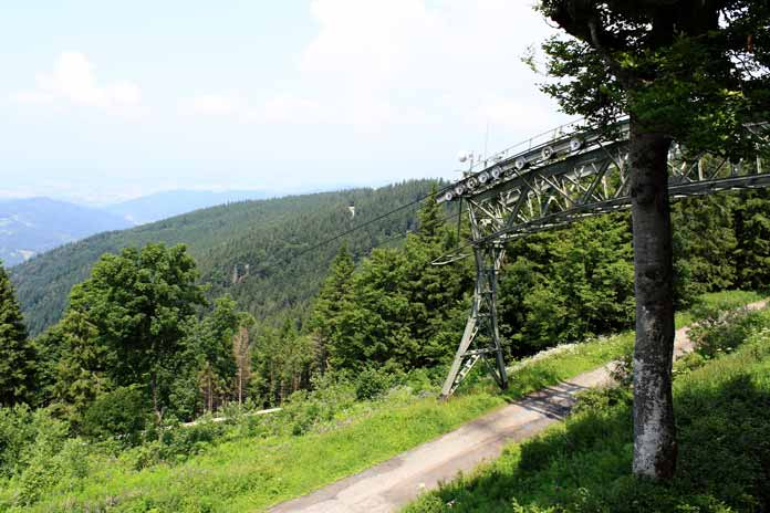 Schauinsland cable car