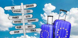 trip around Europe