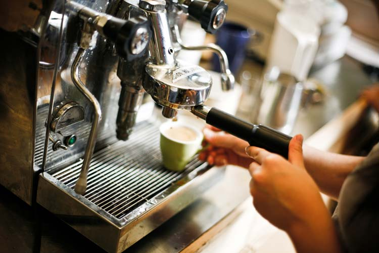 Barista Coffee Single Or Double Shot