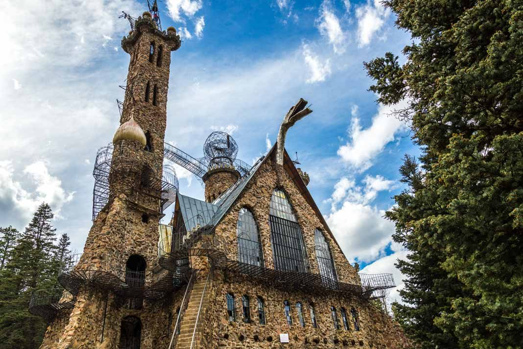 Bishop Castle in Colorado