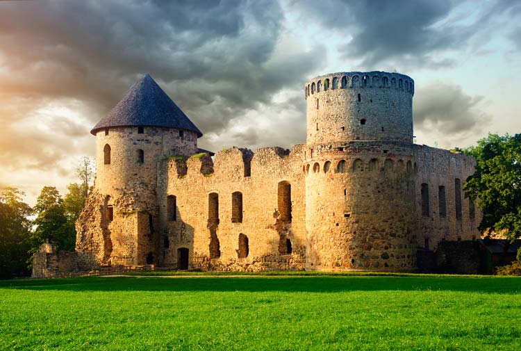 Charming-Castle-in-Cesis-Latvia