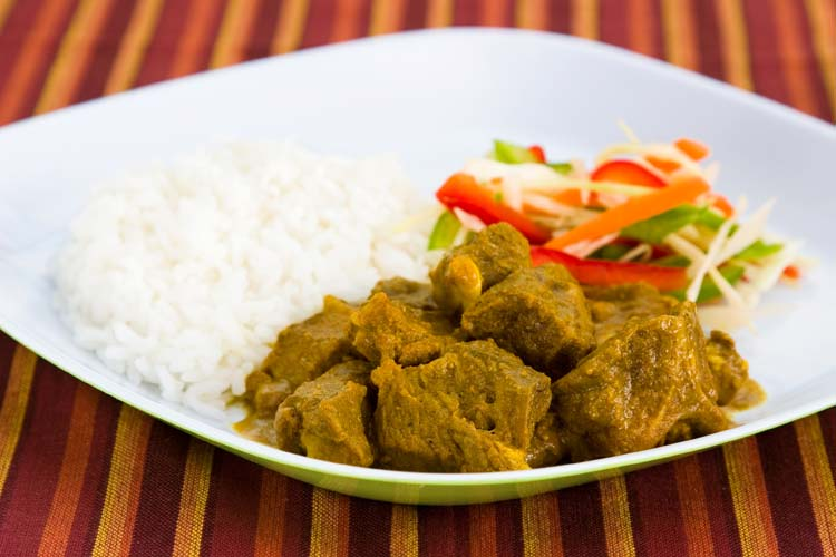 Curried-Goat