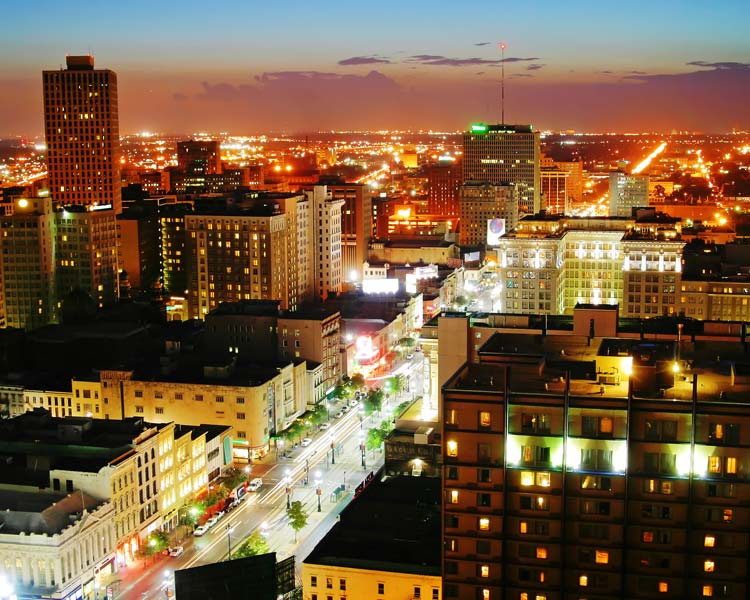 Downtown-New-Orleans-Louisiana