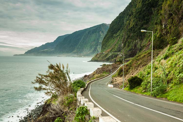 Driving-in-Madeira