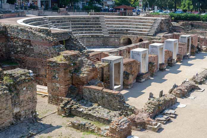 Historic monuments in Thessaloniki