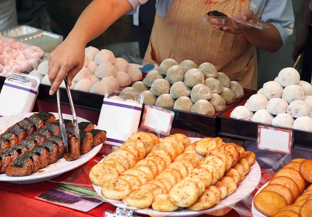 Japanese street food vendor
