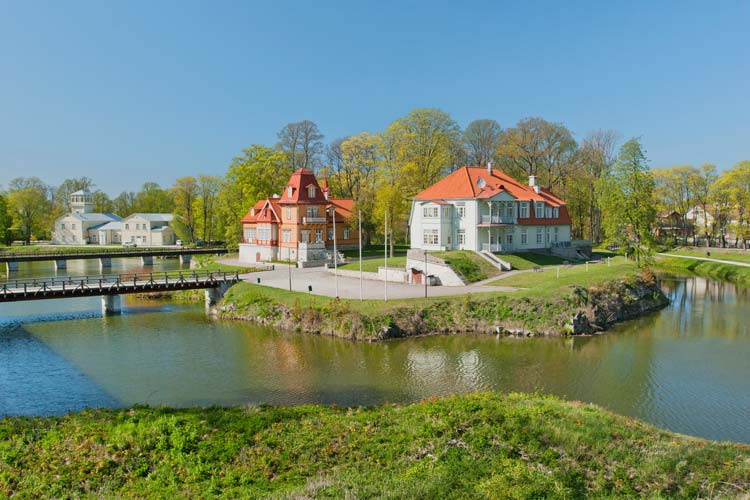 Kuressaare-on-the-Island-of-Saaremaa-Estonia