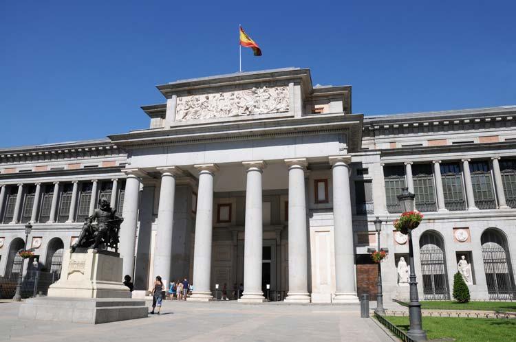 Museo-del-Prado-in-Madrid-Spain