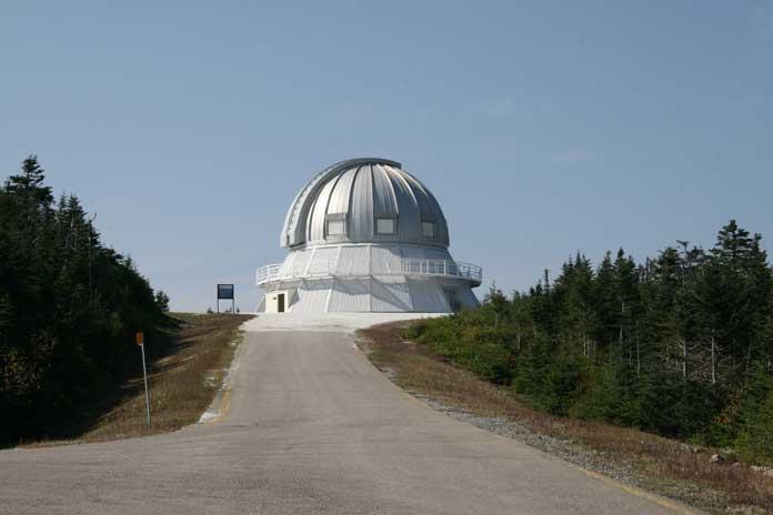 Observatory at Mount Megantic, Quebec, Canada