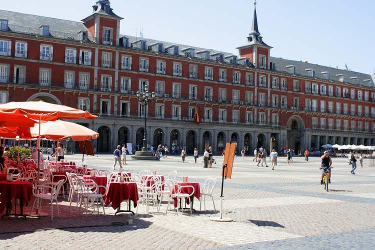 Plaza-Mayor-in-Madrid-Spain