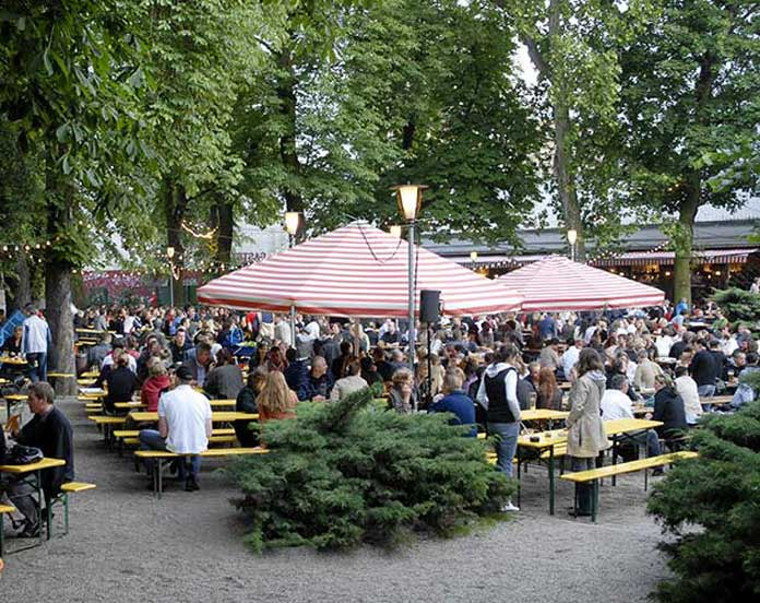 Prater Garten, Beer Garden in Berlin, Germany