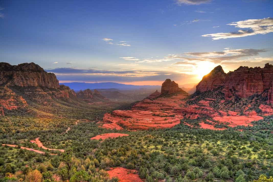 sedona in arizona has brilliant red rock formations you need to see