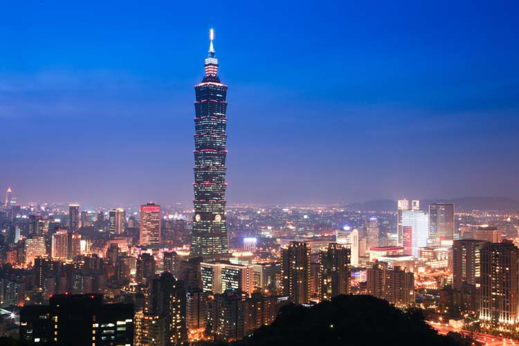 Taipei-101-Tower-in-Taiwan