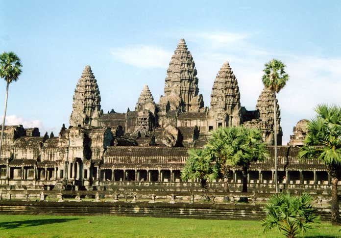 Temple of Angkor Wat in Cambodia