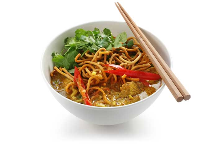Thai Khao Soi Curry Noodles