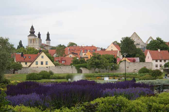 Town of Visby Sweden