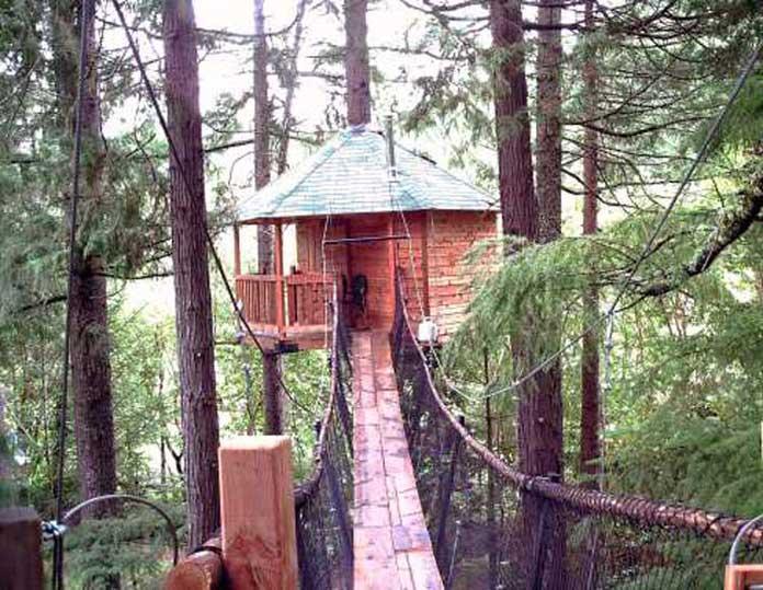 Treehouse Treesort, Oregon