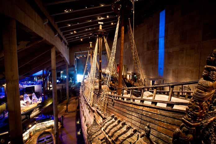 Vasa Museum in Stockholm Sweden
