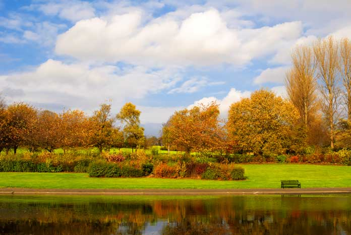 View of Alexandra Park in Glasgow, United Kingdom
