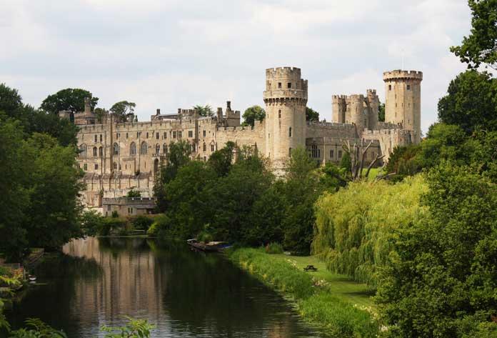 Warwick Castle, Warwickshire, Great Britain