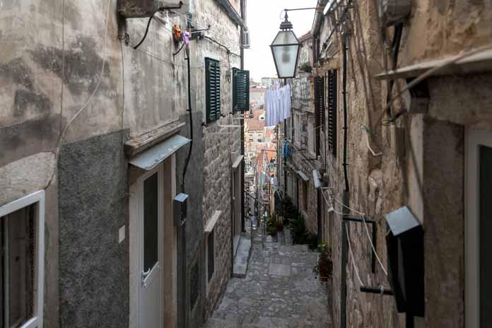streets Dubrovnik