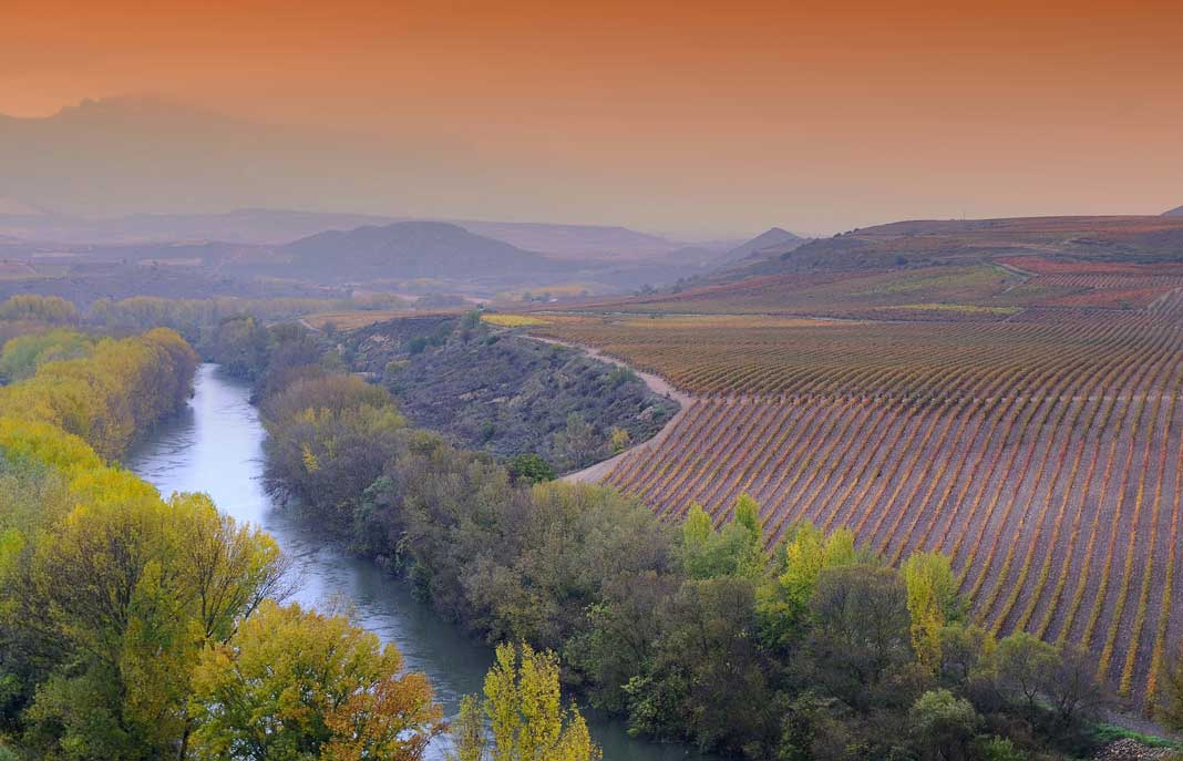 La Rioja wine region Spain