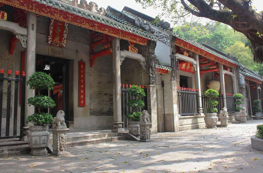 Lin Fung Temple in Macau China