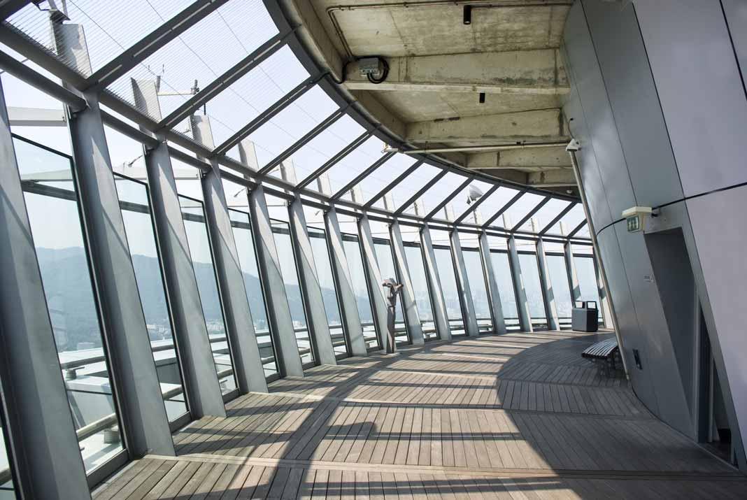 Macau Tower observation lounge